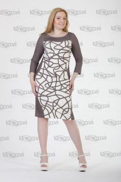 Платье Эксклюзив (капучино)