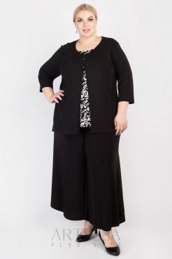 Блузка BL02603BLK01 черный
