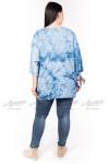 Блузка BL04704LBL00 голубой