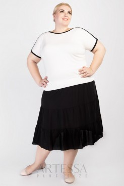 Блузка BL11403WHT04 белый
