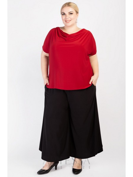 Блузка BL33307RED25 красный