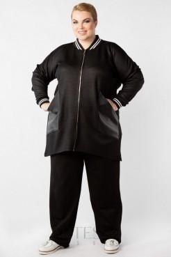 Жакет GA23009BLK01 черный