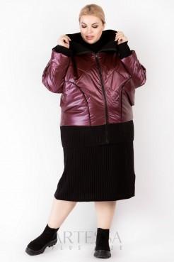 Куртка KR00133RED29 бордо
