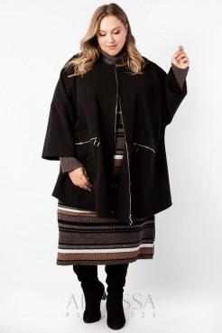Пальто PL20028BLK01 черный