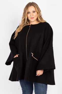 Пальто PL20029BLK01 черный