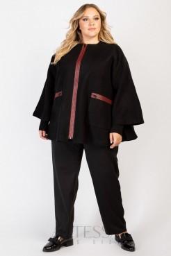 Пальто PL20029BLK29 черный