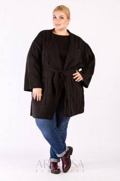 Пальто PL25028BLK01 черный