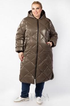 Пальто PL25233BRW19 коричневый