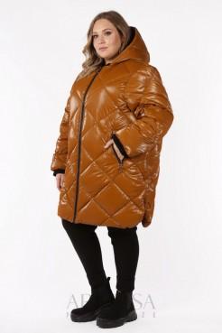 Пальто PL25333YLW51 горчица