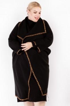 Пальто PL30028BLK01 черный