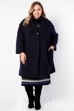 Пальто PL40023DBL05 синий