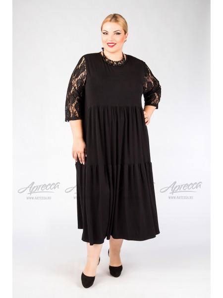 Платье PP00239BLK00 черный