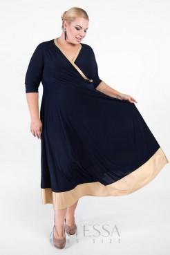 Платье PP03607DBL61 синий