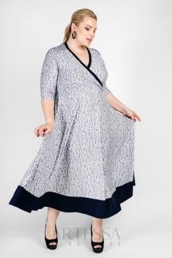 Платье PP03607ORC06 орнамент