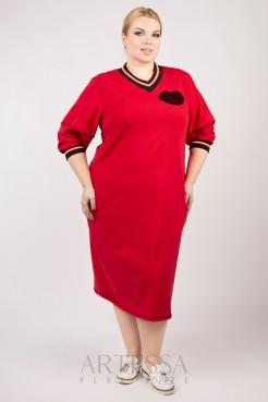 Платье PP12302RED25 красный