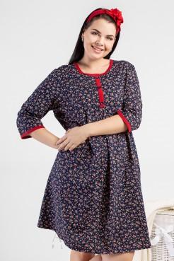 Платье PP15501FLW05 синий