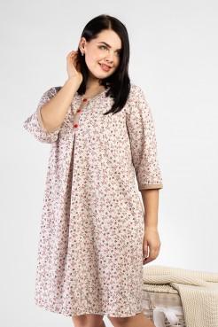 Платье PP15501FLW16 бежевый
