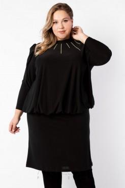 Платье PP19007BLK01 черный