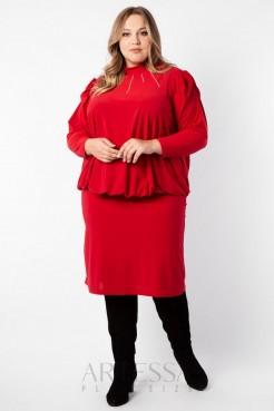 Платье PP19007RED25 красный