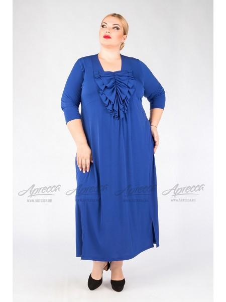 Платье PP23707BLU08 василек