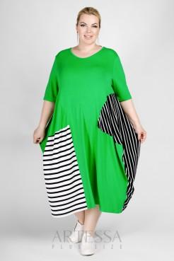 Платье PP25503STS46 салат