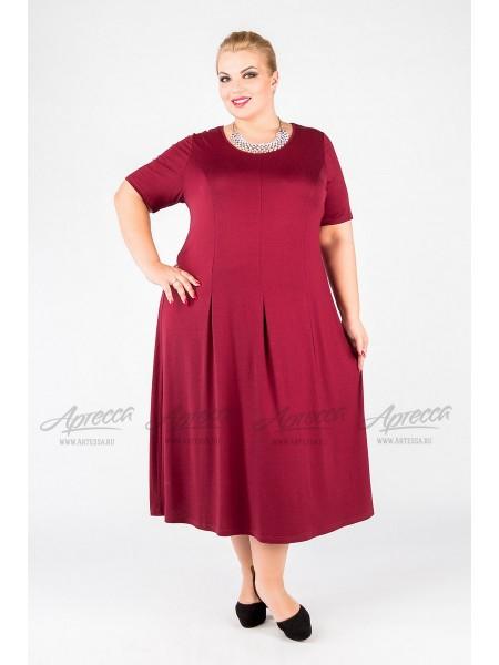 Платье PP37203RED29 бордо