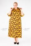 Платье PP39008FLW48 желтый