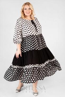 Платье PP55704PEA01 горох