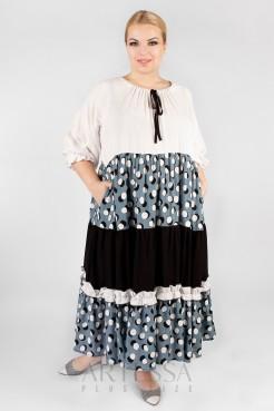 Платье PP55704PEA23 белый