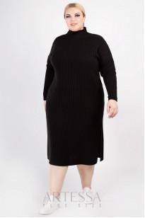 Платье PP60828BLK01 черный
