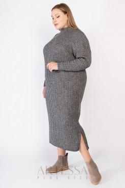 Платье PP60828MEL23 серый