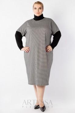 Платье PP63108GUZ01 серый