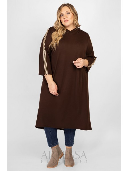 Платье PP65024BRW20 коричневый