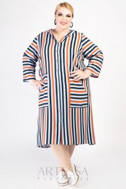 Платье PP65604STR15 полоска