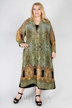 Платье PP71909LEO27 леопард