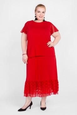 Блузка BL31819RED25 красный