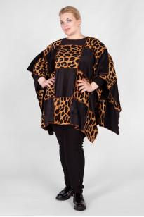 Джемпер DG16121LEO21 черный леопард