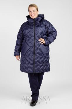 Пальто PL26033DBL05 синий