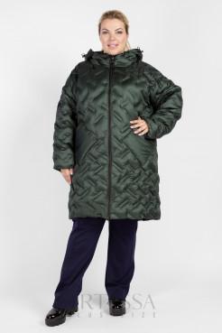Пальто PL26033GRN45 хаки