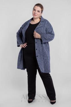 Пальто PL40522MEL06 синий