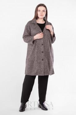 Пальто PL40522MEL20 коричневый