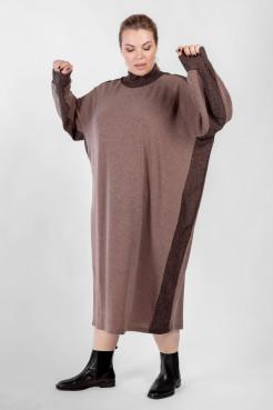 Платье PP08008PUR64 коричневый