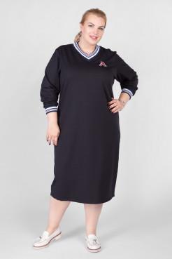 Платье PP12202DBL05 темно-синий