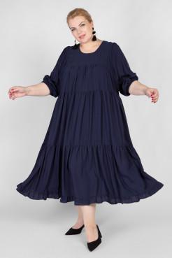 Платье PP22904DBL05 темно-синий