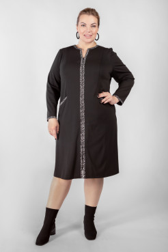 Платье PP40006ORS01 черный