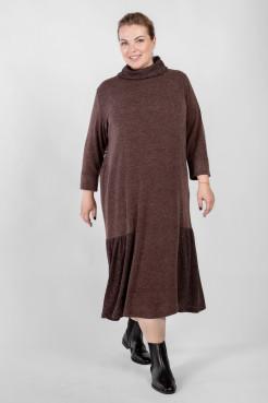 Платье PP71008BRW20 коричневый