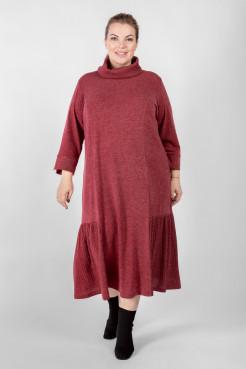 Платье PP71008RED28 бордо