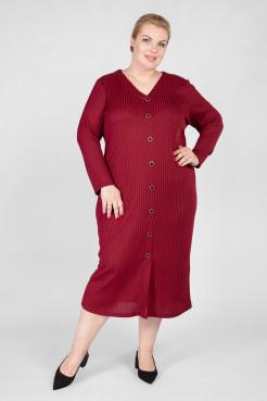 Платье PP81022RED29 темно-красный