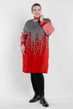Платье PP90666GOR25 красный