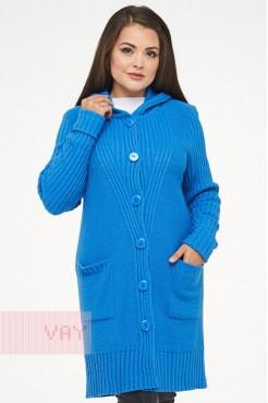 Жакет жен. 182-1561 голубая лазурь